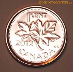 1 Канадский цент