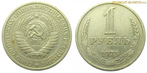 1 рубль 1975 года — стоимость, цена монеты